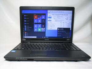 東芝 dynabook Satellite B452/G PB452GNBPR5A71 Celeron B830 1.8GHz 4GB 320GB 15.6インチ DVD作成 Win10 64bit Office USB3.0 [79276]