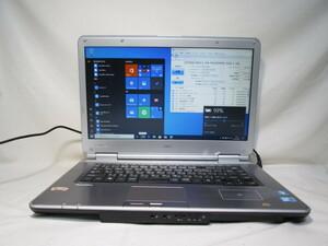NEC VersaPro VK26MD-B PC-VK26MDZRB Core i5 560M 2.66GHz 4GB 500GB 15インチ DVDマルチ Win10 64bit Office Wi-Fi HDMI [79310]