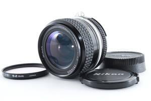 【美品】Near MINT++ Nikon AI Nikkor 28mm F/3.5 MF Wide Angle Lens 96 198 ニコン ニッコール 広角 198@mK