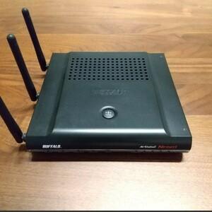 無線LANルーター BUFFALO WZR2-G300N Wi-Fi
