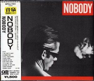 【即決】NOBODY / ノーバディ 「 NOBODY 」CD/帯付