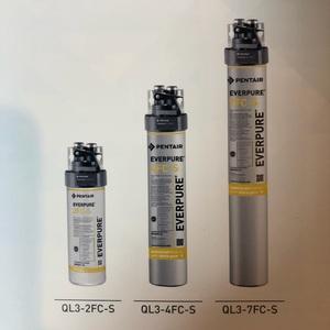 エバーピュア浄水器 カートリッジ QL3-4FC-S 送料込