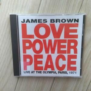 ライヴ・イン・パリ'71 ジェームス・ブラウン CD