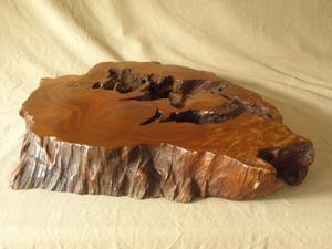時代 欅敷板 無垢材一枚板60cm 侘 寂 樹洞輪切 飾台 盆栽台 衝立 花台 花道 茶道 珍木変木