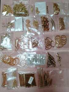 ハンドメイドに 接続パーツ 接続チャーム 2つ穴 ゴールド ゴールドカラー まとめ売り 手芸用品