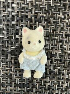 ジャンク 訳あり シルバニアファミリー ネコの赤ちゃん 猫 ねこ sylvanian families 中古 かわいい