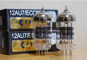 クライオ処理 ECC82 (12AU7)真空管_新品 *注意1本単価です。_100%禁煙環境保管/ペットフリー