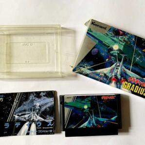 ファミコン グラディウス 箱説つき Gradius FC Famicom NES Nintendo Shooter