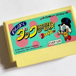 ファミコン わんぱくダック夢冒険 FC Famicom NES Duck Tales