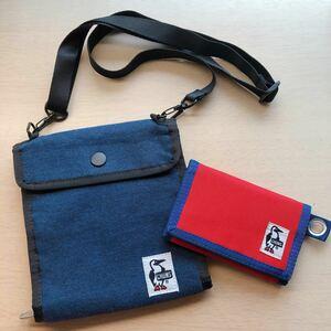 チャムス サコッシュ+財布