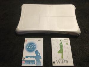 Wii バランスボード バランスWiiボード Wii Fit シェイプアップボクシング セット