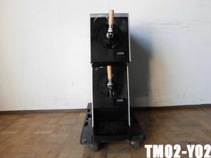 中古厨房 山田電器工業 業務用 2口 生ビールディスペンサー ビールサーバー TM02-Y02 2019年式 100V W225×D680×H700mm