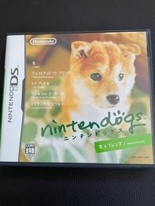 任天堂DSソフト nintendo dogs 柴 & フレンズ