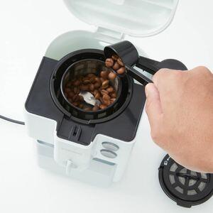ドウシシャ全自動コーヒーメーカー(豆・粉どちらも可)