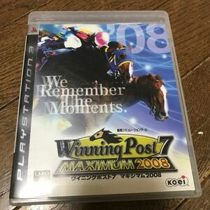 PS3 winning post7 maximum2008