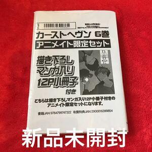 BLコミック 緒川千世「カーストヘヴン  6」アニメイト限定セット 描き下ろし小冊子付き 新品