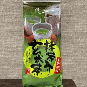 黒豆&抹茶入り玄米茶 200g x2袋