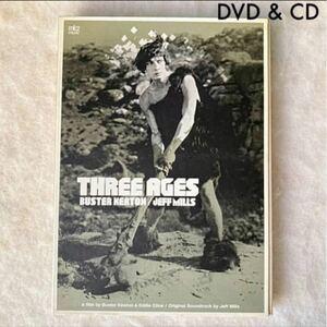 DVD+CD THREE AGES BUSTERKEATON/ Jeff Mills