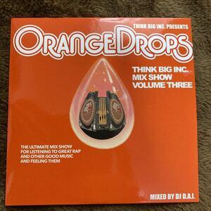 【DJ D.A.I.】THINK BIG MIX SHOW VOL.3 -ORANGE DROPS-【MIX CD】【送料無料】