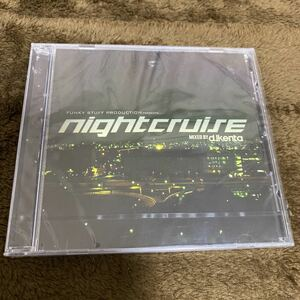 【DJ KENTA】NIGHT CRUISE【新品未開封】【廃盤】【MIX CD】【送料無料】