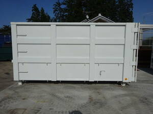 armroll container box ..Miziho 4t12. double doors strengthen type boat bottom container 69
