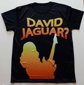 DAVID JAGUAR Lサイズ Tシャツ 未使用 激レア オダギリジョー出演CM エアペイ キャラクター デビットジャガー おもしろグッズ