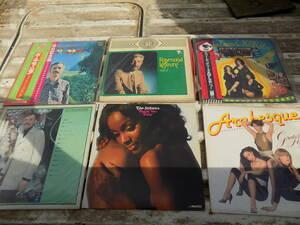 LPレコード スタイリスティックス、スリー・ディグリーズ、天使のささやき 、ポールモーリア他 全6枚 売り切り 送料込み