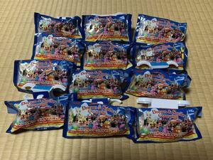未使用品!! 非売品!! ディズニー フィギュア トゥーンタウン ジオラマ Disney 東京ディズニーランド コンプリート 全12種類
