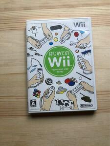 はじめてのWii Wiisports Wiiソフト