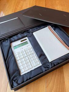 アマダナ amadana 関数電卓 CASIO 計算機 新品 未使用 保管品 レザーケースセット 17000円