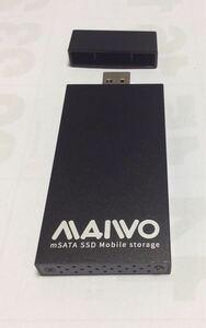 MAIWO USB3.0 to mSATA SSD外付ケース