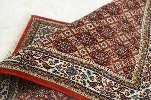 イラン製 ペルシャ絨毯 マヒ柄 タブリーズ産 ウール 手織り カーペット ラグ マット じゅうたん _ギャッペ ギャベ パキスタン 段通 クム