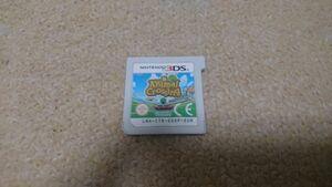 3DS とびだせ どうぶつの森 Animal Crossing New Leaf 欧州版 海外版 中古 ソフトのみ