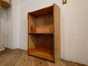 ビンテージ 木製 オープンラック OR-196/レトロ モダン 本棚 食器棚 飾り棚 陳列棚 店舗什器 古道具 古家具