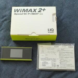WiMAX 2+ SPEED Wi-Fi NEXT W05 UQ WiMAX Wi-Fiルーター HWD36 モバイルルーター