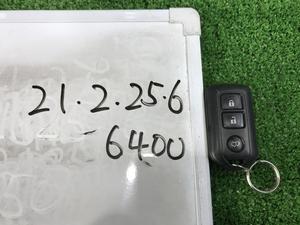 ★ATH10 トヨタ アルファード HV Gエディション 平成19年 純正 スマートキー 鍵 キーレス パワーバックドア 3ボタンタイプ★