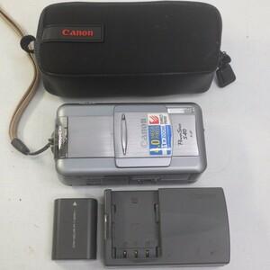 CANON キャノン PowerShot パワーショット S40 コンパクトデジタルカメラ ケース+バッテリー+充電器付き 通電確認済み P