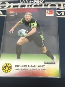 2020-21 Topps Now Bundesliga Erling Haaland Borussia Dortmund Haaland hits 50 for BVB カード  即決