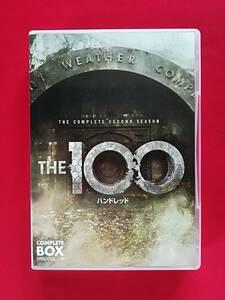 DVD  THE100 / ハンドレッド 〈セカンド・シーズン〉 コンプリート・ボックス(8枚組)  サンプル盤