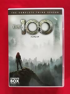 DVD  THE 100/ハンドレッド 〈サード・シーズン〉 コンプリート・ボックス(8枚組)   サンプル盤
