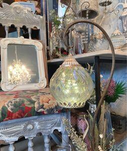アンティークな部屋/ ハンギング ペンダントランプ 吊り下げ式 グラスランプ 2way/ #店舗什器 #インテリア装飾灯 #LEDランプ