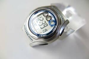 稼動品 CASIO ILLUMINATOR カシオ イルミネーター W-E11 アラーム クロノ タイマー 腕時計 オールド デジタル希少品!ビンテージ