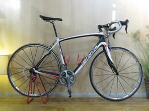 ■SPECIALIZED ROUBAIX SL3 2011年 スペシャライズド ルーべ マビックR-SYS 20速 カーボン ホワイト ロードバイク ULTEGRA 自転車 札幌発