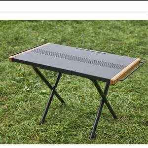 最安値!ホールアース ヒートレジスタントサイドテーブル 焚き火テーブル