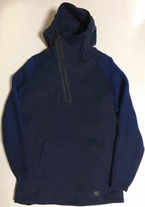 NIKE Tech Fleece Dynamic Reveal Hoodie XL NAVY ナイキ テックフリース パーカー フード ハイネック Half Zip TN フーディ ネイビー 紺