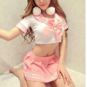 セーラー服  ピンク