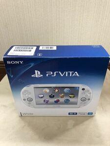 PlayStation Vita(PCH-2000シリーズ) Wi-Fiモデル ホワイト FW2.50