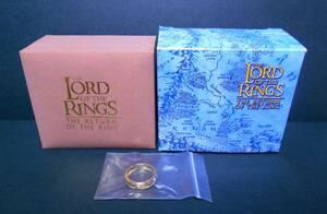 【新品!!】 公式 ロード・オブ・ザ・リング ワンリング 21号 The One Ring シルバー925 ゴールドコーティング 一つの指輪 レプリカ