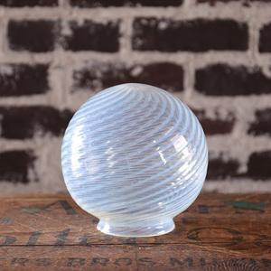 オパールセント ガラスシェード ランプシェード スウィル 渦巻 OPALESCENT SWIRL SHADE アンティーク ヴィンテージ インテリア