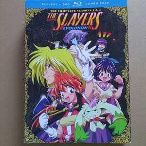 スレイヤーズ REVOLUTION+EVOLUTION-R 北米版 Blu-ray&DVD